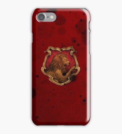 Red Ink Blots iPhone Case/Skin