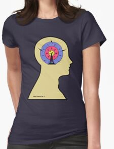 Worry ochre Womens Fitted T-Shirt
