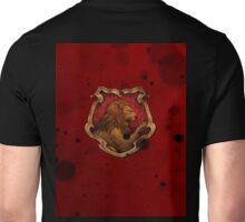 Red Ink Blots Unisex T-Shirt
