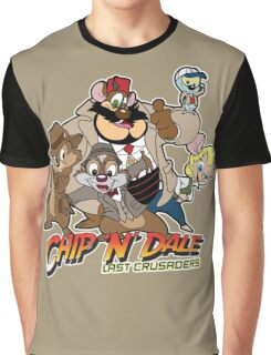 Chip N Dale Last Crusaders Graphic T-Shirt