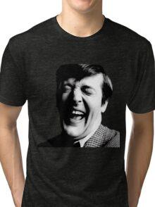 Stephen Fry Happy Tri-blend T-Shirt