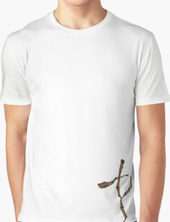 Walking Stick Kick Graphic T-Shirt