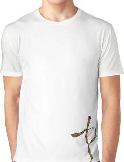 Walking Stick Kick Graphic T-Shirt
