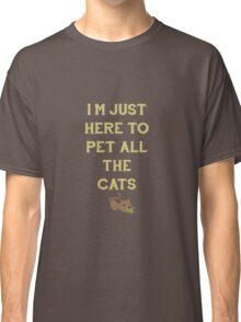 Pet All The Cat Classic T-Shirt