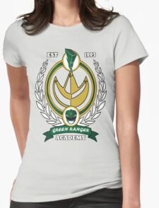 Green Ranger Academy Womens Fitted T-Shirt