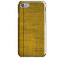 Gold & Black Stripes iPhone Case/Skin