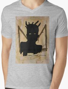 today i made nothing Mens V-Neck T-Shirt