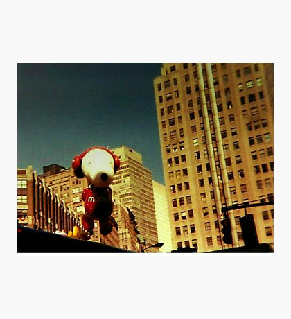 Original Thanksgiving Day Parade 1988 NYC Photo - Snoopy Photographic Print
