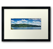 Lake Solina Framed Print