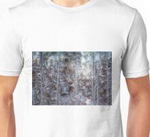 Ice figures in window Unisex T-Shirt