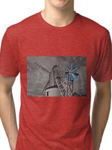 English windmill Tri-blend T-Shirt