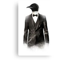 Blizzard Penguin Canvas Print