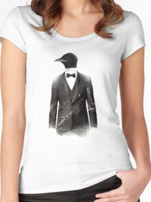 Blizzard Penguin Women's Fitted Scoop T-Shirt