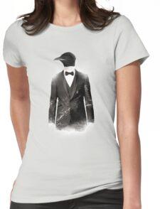 Blizzard Penguin Womens Fitted T-Shirt