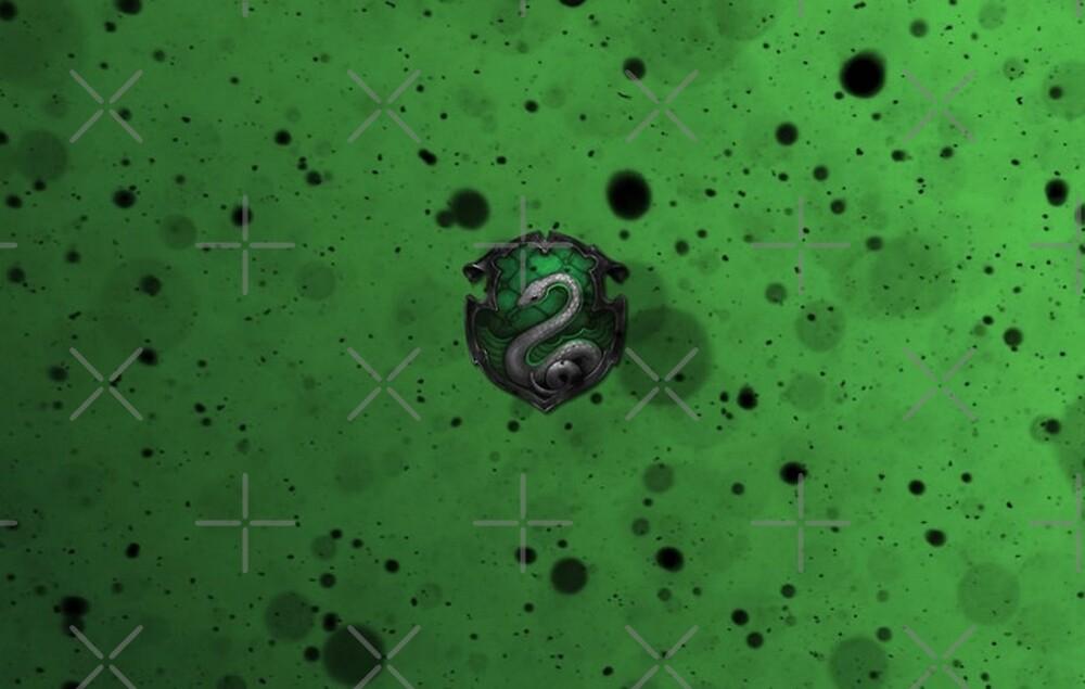 Green Ink Blots by Serdd
