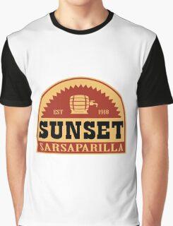 Sunset Sarsaparilla Graphic T-Shirt