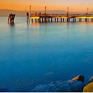 Bracciano Lake At Sunset by savage1