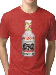 ARIZONA ICED TEA WHITE Tri-blend T-Shirt
