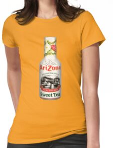 ARIZONA ICED TEA WHITE Womens Fitted T-Shirt