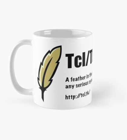 Tcl/Tk - Feather in the cap - Sysadmin Mug