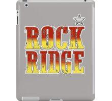 ROCK RIDGE - BLAZING SADDLES iPad Case/Skin