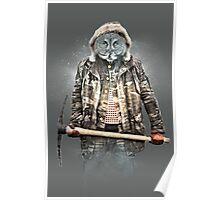 Blizzard Owl Poster