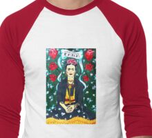 Frida Men's Baseball ¾ T-Shirt