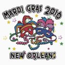 2016 Mardi Gras New Orleans 2016 NOLA by HolidayT-Shirts