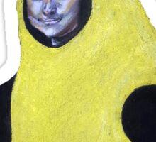 Mona Lisa Goes Bananas Sticker