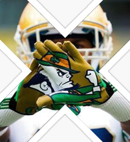 Notre Dame Football Sticker