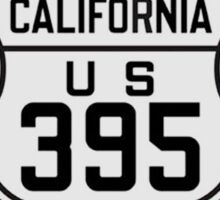 Historic Route 395 Sticker