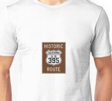 Historic Route 395 Unisex T-Shirt