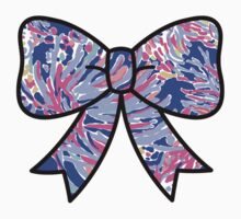 Lilly Pulitzer Inspired Bow - Shrimply Chic Kids Clothes