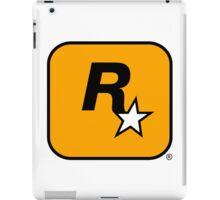 Rockstar logo HQ iPad Case/Skin