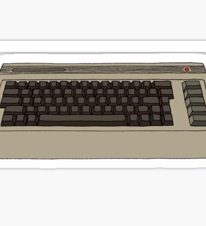 Commodore 64 C64 Design Sticker