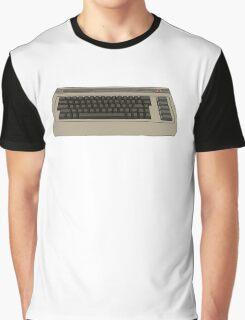 Commodore 64 C64 Design Graphic T-Shirt