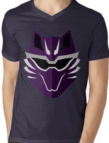 Jungle Fury Wolf Ranger/GekiViolet Mens V-Neck T-Shirt