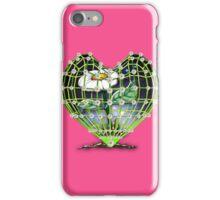 Flower in the heart by Bluesax iPhone Case/Skin