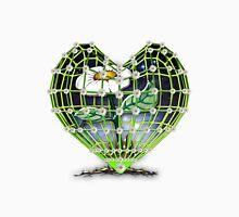 Flower in the heart by Bluesax Unisex T-Shirt