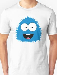 Funny cartoon blue monster Unisex T-Shirt
