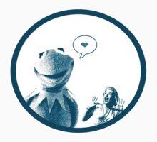 Kermit in Love Kids Tee