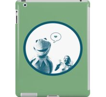 Kermit in Love iPad Case/Skin
