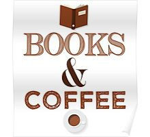 Coffee & Books  Poster