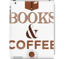 Coffee & Books  iPad Case/Skin