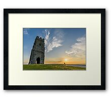 Sunset Viewpoint Framed Print