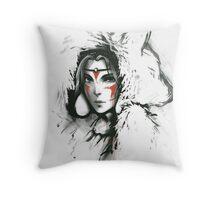 Princesse mononoke Throw Pillow