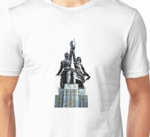 Worker and Kolkhoz Woman (Moscow 2013) - Clean Unisex T-Shirt
