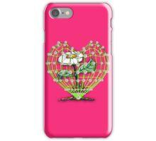 Heart Flower by Bluesax iPhone Case/Skin