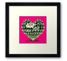 Flower Heart by Bluesax Framed Print