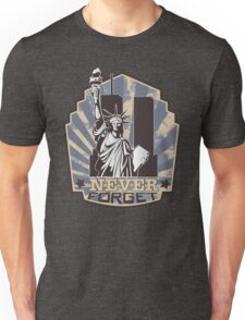 911 Twin Towers Never Forget Unisex T-Shirt